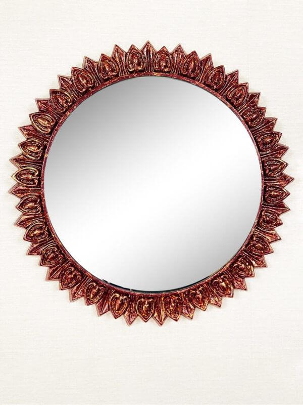Дизайнерское зеркало солнце «Рэй»