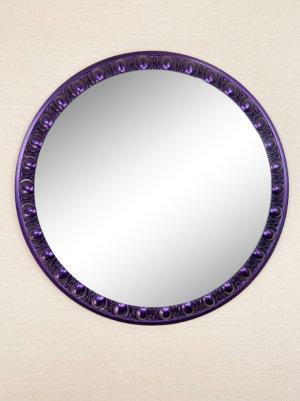 Круглое дизайнерское зеркало в раме «АИДА»