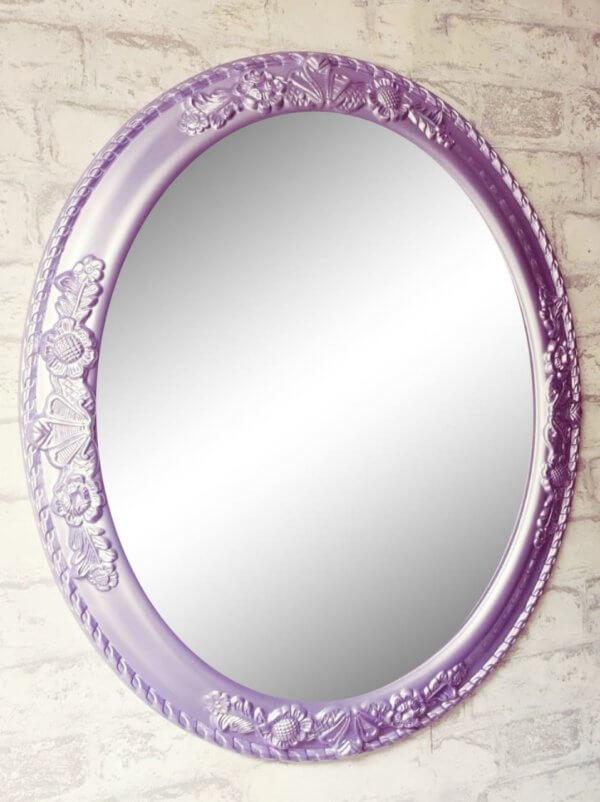 Дизайнерское овальное зеркало в раме «ЛУИЗА»