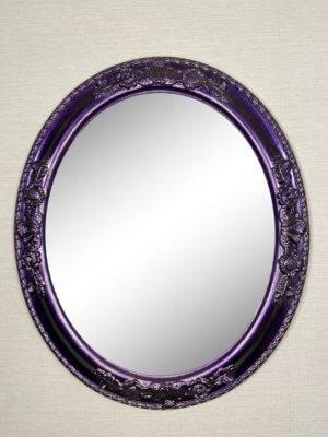 Дизайнерское овальное зеркало в раме «Лорен»