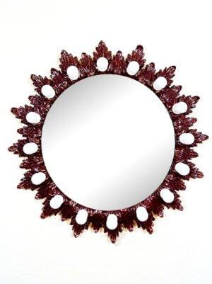 Круглое гримерное зеркало «СОЛНЦЕ»